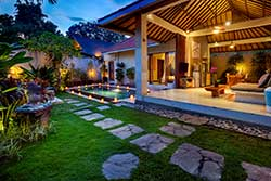 cheap one bedroom villa with private pool bali