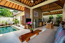 cheap one bedroom villa in bali