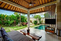 cheap one bedroom pool villa bali
