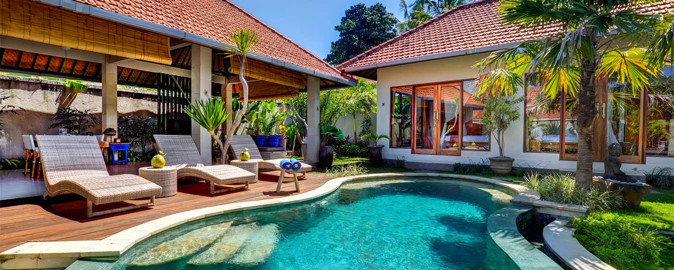 bali villas with private pool | canggu villas for rent | villa prana