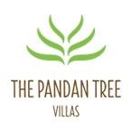 bali 1 bedroom villa with private pool | logo pandan tree