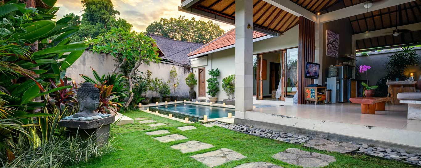 one bedroom villa bali private pool | the villa cinta