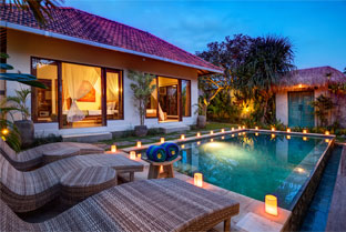 2 bedroom villa canggu bali | villa yoga at the pandan tree villas
